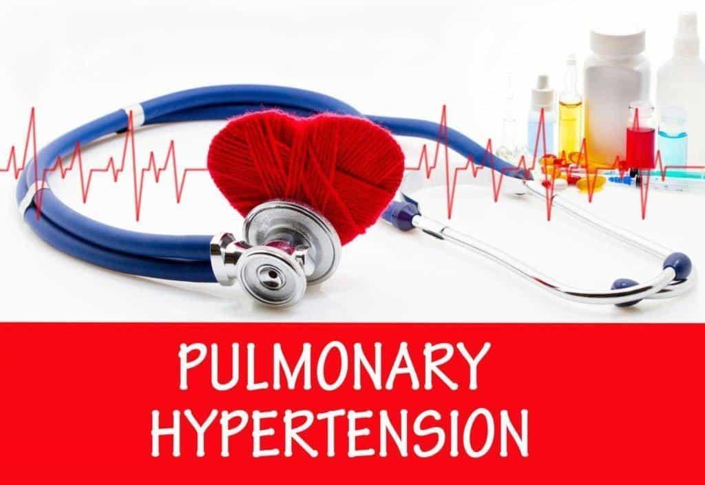 su plaučių hipertenzija)